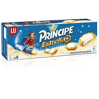 Príncipe Galletas Príncipe Estrellas Chocolate Blanco 225 g