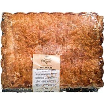 CALIDAD ARTESANA Empanada de hojaldre de ternera pieza 800 g