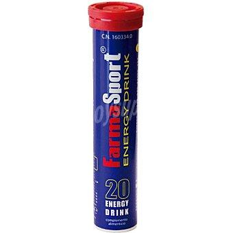 FARMASPORT Energy Drink 20 comprimidos efervescentes Estuche 90 g