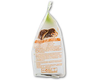AUCHAN Mini bizcocho relleno de naranja 125 g