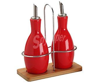 GSMD Aceitera y vinagrera modelo Ikas de color rojo 1 Unidad