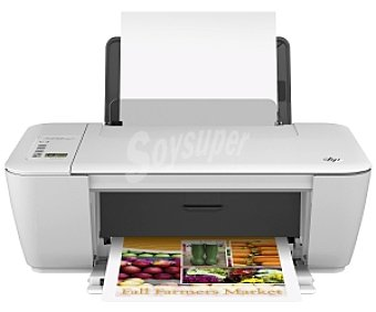 HP DJ 2540 Impresora multifuncional inyección wifi HP deskjet 2540, imprime, copia y escanea, impresión desde PC, Smartphone o Tablet inalámbricamente, gráficos de colores vivos y texto de calidad, (48,90€/UN ) Multifunc.inyección wifi