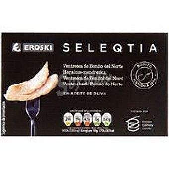 Eroski Seleqtia Ventresca de Bonito en aceite oliva Eroski Lata 115 g
