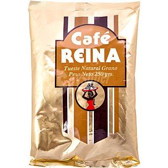Reina Cafe natural en grano Bolsa 250 g