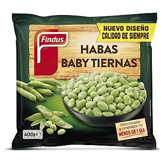 FINDUS Habas baby bolsa 400 g