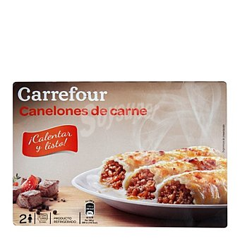 Carrefour Canelones Carne 400 g