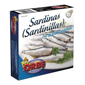 Orbe Sardinillas en aceite vegetal 160 g