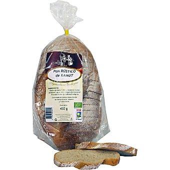 EL HORNO DE LEÑA pan rústico de kamut  envase 450 g