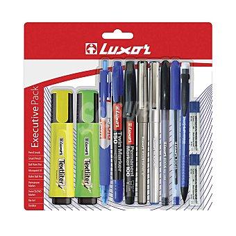 Luxor Pack Escritura 12 ud