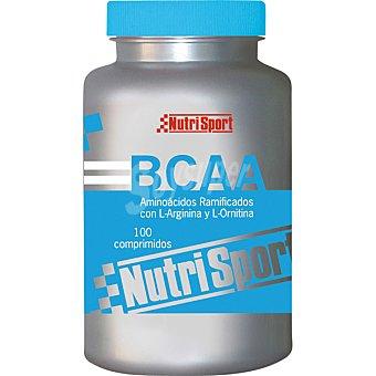 NUTRISPORT BCAA Aminoácidos ramificados 100 comprimidos (bote de 111 g)