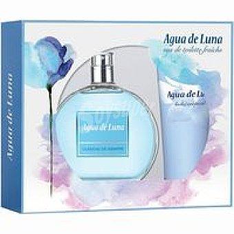 Agua de Luna Colonia de mujer-body Lotion Pack 1 unid