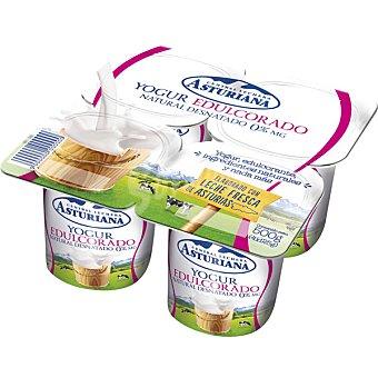 Central Lechera Asturiana Yogur natural desnatado edulcorado Pack 4 unidades 125 g