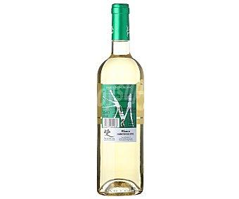 M DE MURVIEDRO Vino blanco Sauvignon Blanc con denominación de origen de Valencia Botella de 75 Centilitros