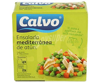 Calvo Ensalada mediterránea de atún 150 gramos