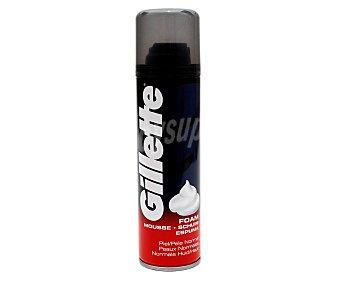 Gillette Espuma de afeitar con textura mousse para pieles normales gillete 200 ml