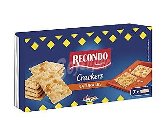 Recondo Crackers naturales 250 g