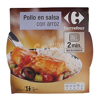Carrefour Pollo en Salsa con Arroz 300 g