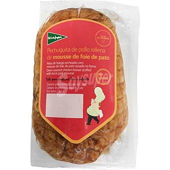 El Corte Inglés Pechuguita de pollo asada al horno rellena de mousse foie pato pieza 350 g 350 g