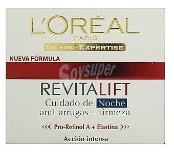 Revitalift L'Orèal Paris Cuidado de noche anti-arrugas + firmeza Tarro 50 ml