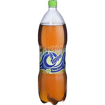 Clipper Refresco de manzana  botella 2 l