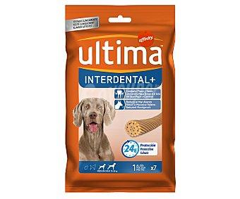 Ultima Affinity Limpieza profunda para la boca de perros medianos de 10-35 kg Interdental +  7 unidades (paquete 210 g)