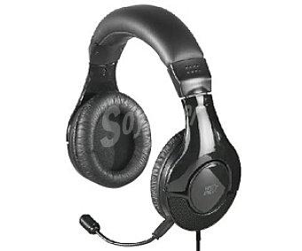 AUCHAN 841866 Auriculares tipo Casco con cable y micrófono