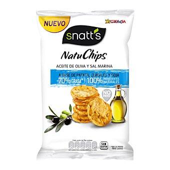 Snatt's Grefusa Natu Chips con aceite de oliva y sal marina 85 g