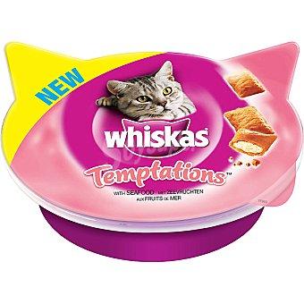 Snacks para gatos frutos del mar Envase 60 g