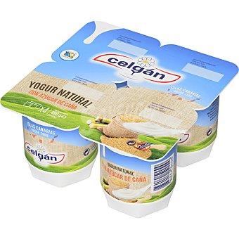 Celgán Yogur natural azucarado Pack x 125 g