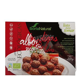 Soria Natural Albóndigas Vegetales Bio Estofadas 350 g