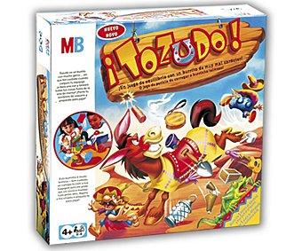 Hasbro Juego de Mesa de Habilidad y Equilibrio Tozudo, de 2 a 4 Jugadores hasbro