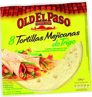 Old El Paso FLOUR TORTILLAS 326 GRS