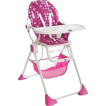 CHICCO Silla Trona Pocket Lunch en color rosa