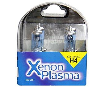 SANS Bombilla de xenón para automóvil, luz ultra blanca, modelo H4 Xenon Plasma, potencia: 60-65W 1 Unidad