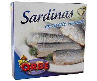 Orbe Sardinas en Aceite 186 Gramos
