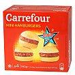Mini hamburguesas 4 ud 240 gr Carrefour
