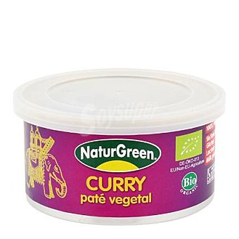 Naturgreen Pate curry - Sin Gluten 125 g