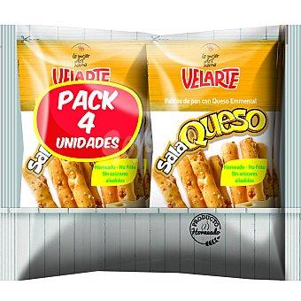 Palitos de pan crujiente con queso Velartepack 4 unidades de 40 g