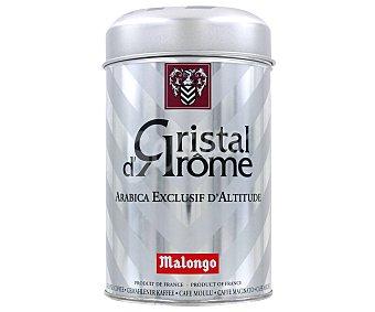 Malongo Café Arábico Cristal d'arôme Ecológico 250g