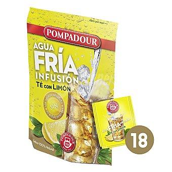 Pompadour Té con limón-agua fría 18 ud