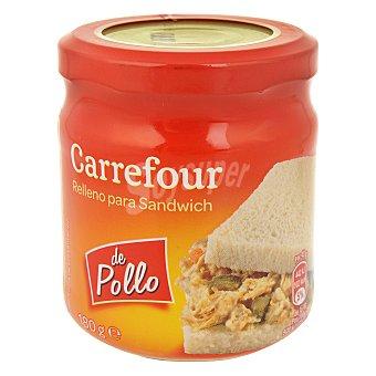 Carrefour Relleno de pollo para sandwich 180 g