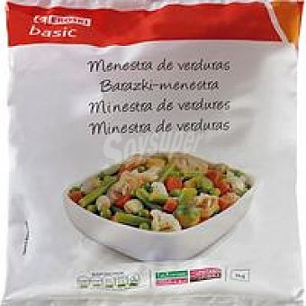 Eroski Basic Menestra de verdura Bolsa 1 kg