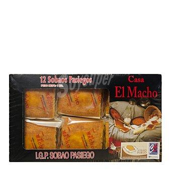 El Macho Sobaos de mantequilla 12 ud