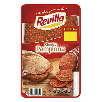 REVILLA chorizo Pamplona en lonchas envase 85 g