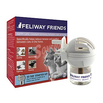 Feliway Difusor y recambio para gatos Feliway Friends 48 ml 48 ml