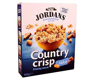 JORDANS Country Crisp Cereales de desayuno con frutos secos Caja 400 g