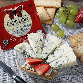 Papillon Queso roquefort 150.0 g. aprox