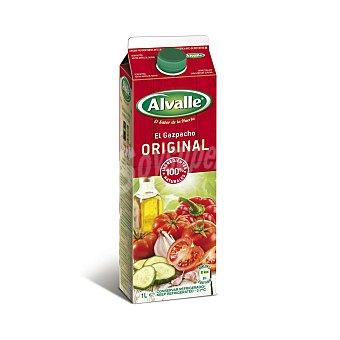 Alvalle Gazpacho original refrigerado Envase 1 lt