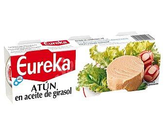 Eureka Atún en aceite de girasol 3 x 52 g