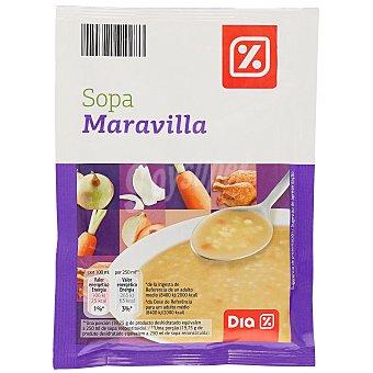 DIA Sopa maravilla sobre 79 gr Sobre 79 gr